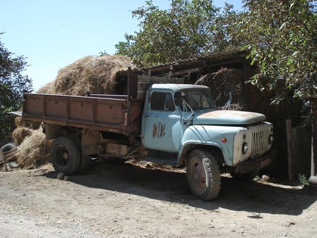Russische vrachtwagen GAZ 53